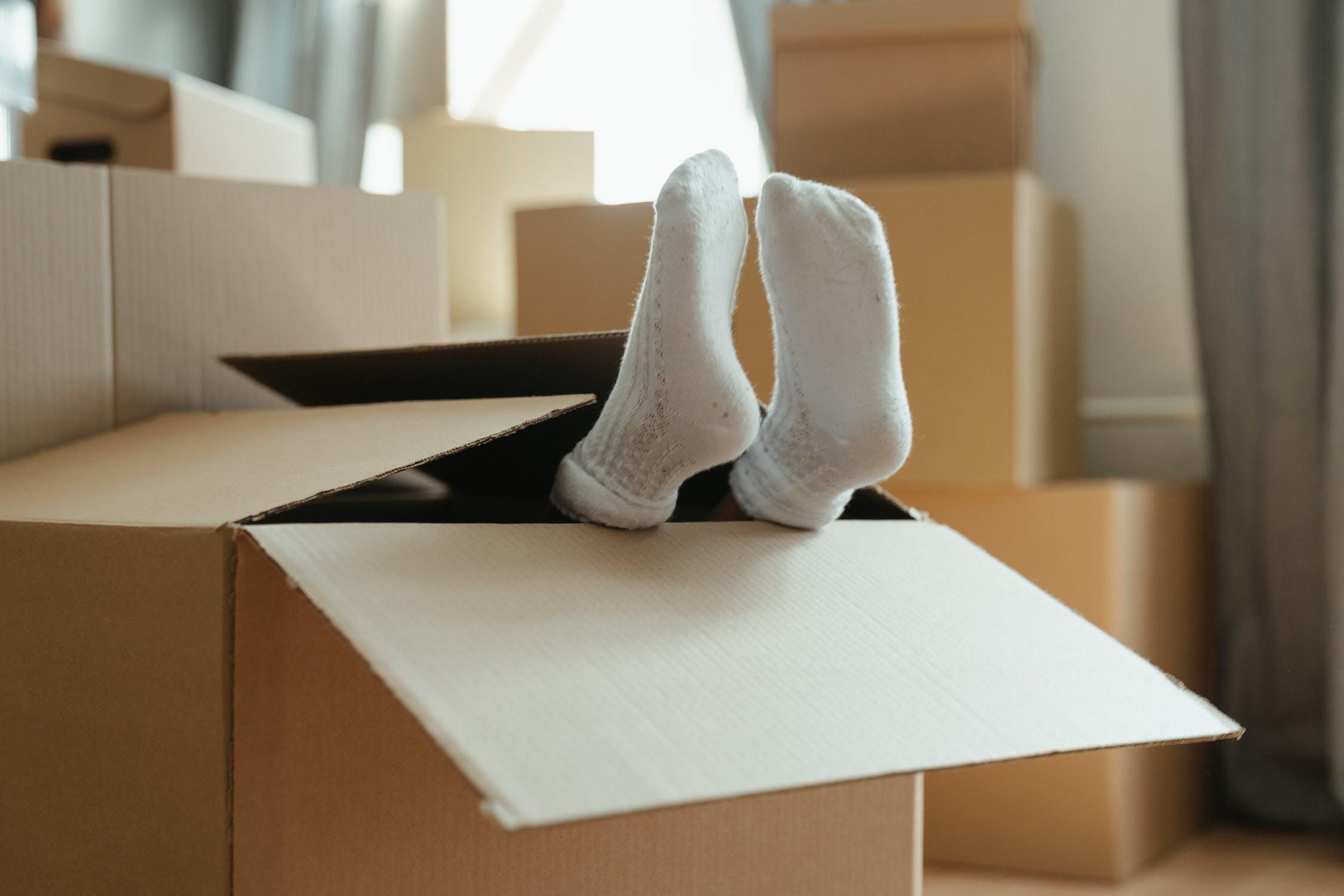 stocker ses affaires quand vous déménagez dans un logement plus petit